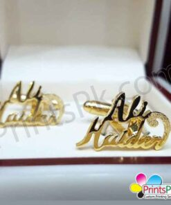 Ali Haider name Cufflinks