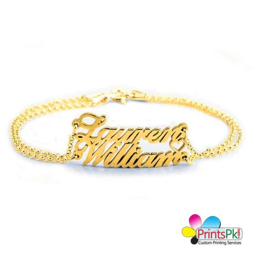 2 names necklace, double name necklace,