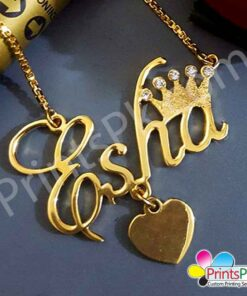 Esha Name Locket
