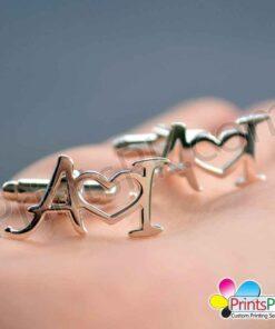 Love Name Cufflinks