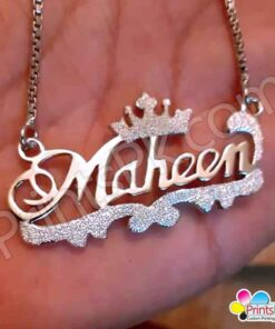 maheen name locket