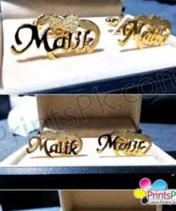 Malik Name Cufflinks