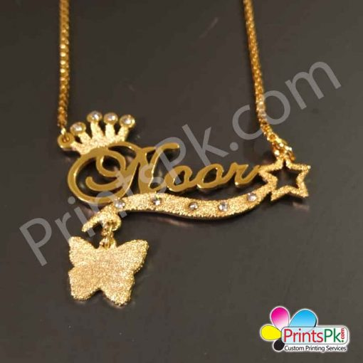 Noor Name Chain Locket