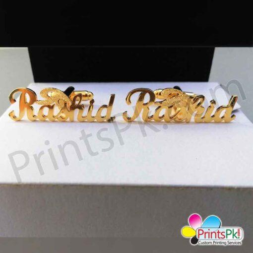Rashid Name Cufflinks