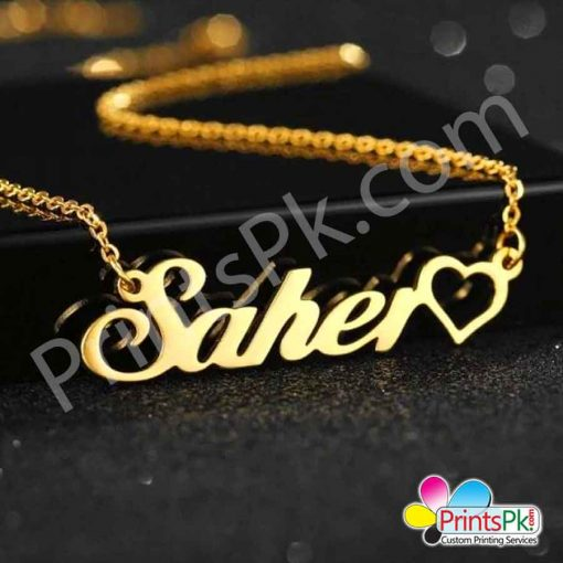 Saher Name Locket