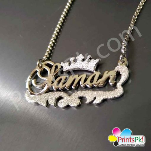 Saman Name Locket