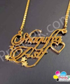 Shagufta Asif Name Locket,