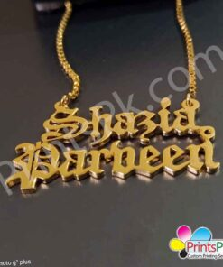 Shazia Name Locket