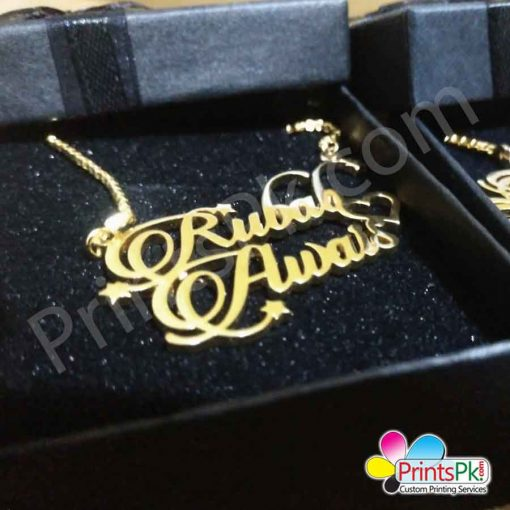 rubab awais Name Necklace
