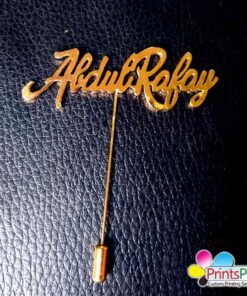 Abdul-rafy-Name-Lapel-Pin
