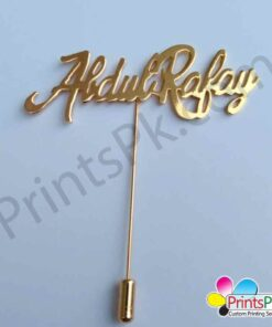 Name Lapel Pin
