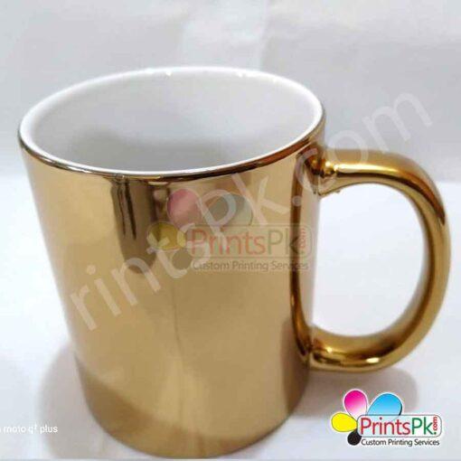 High-gloss-gold-mug