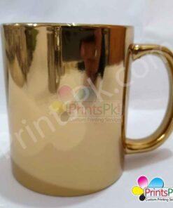 gold reflection mug