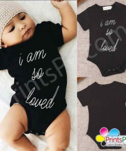 Customized Text Romper