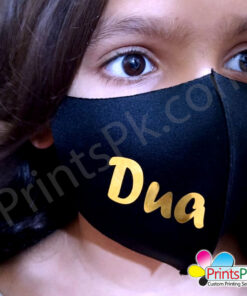 Golden Name Mask