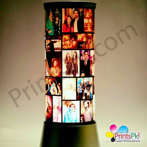 Rotating Photo Lamp