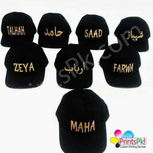 Custom Name Cap