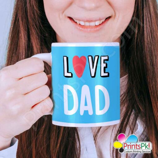Love Dad Mug, Fathers Day
