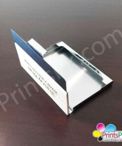 Metal and Wooden Cards Holder