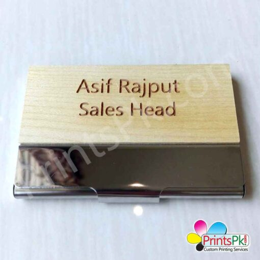 Name Engraved Visiting Cards Holder