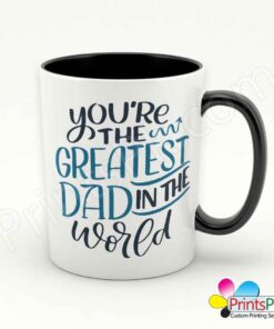 You're Greatest Dad in The World Mug