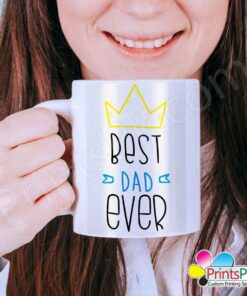 best dad ever, fathers day mug