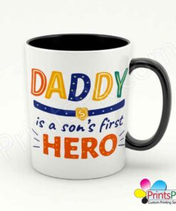 Daddy is a Son's First Hero