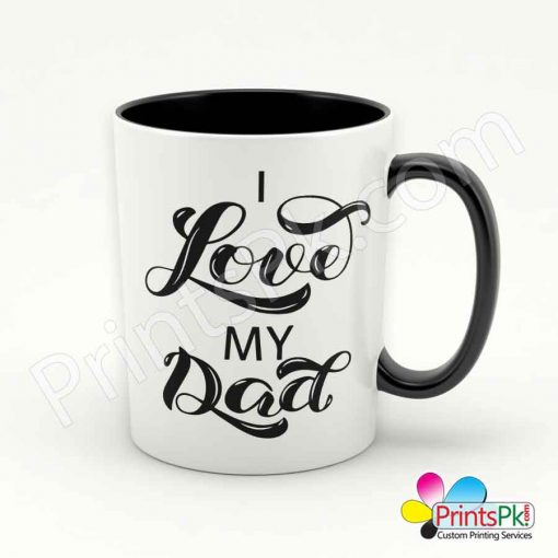 I Love My Dad Mug
