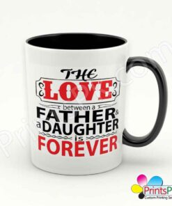 The Love Between Father and Daughter is Forever mug-2